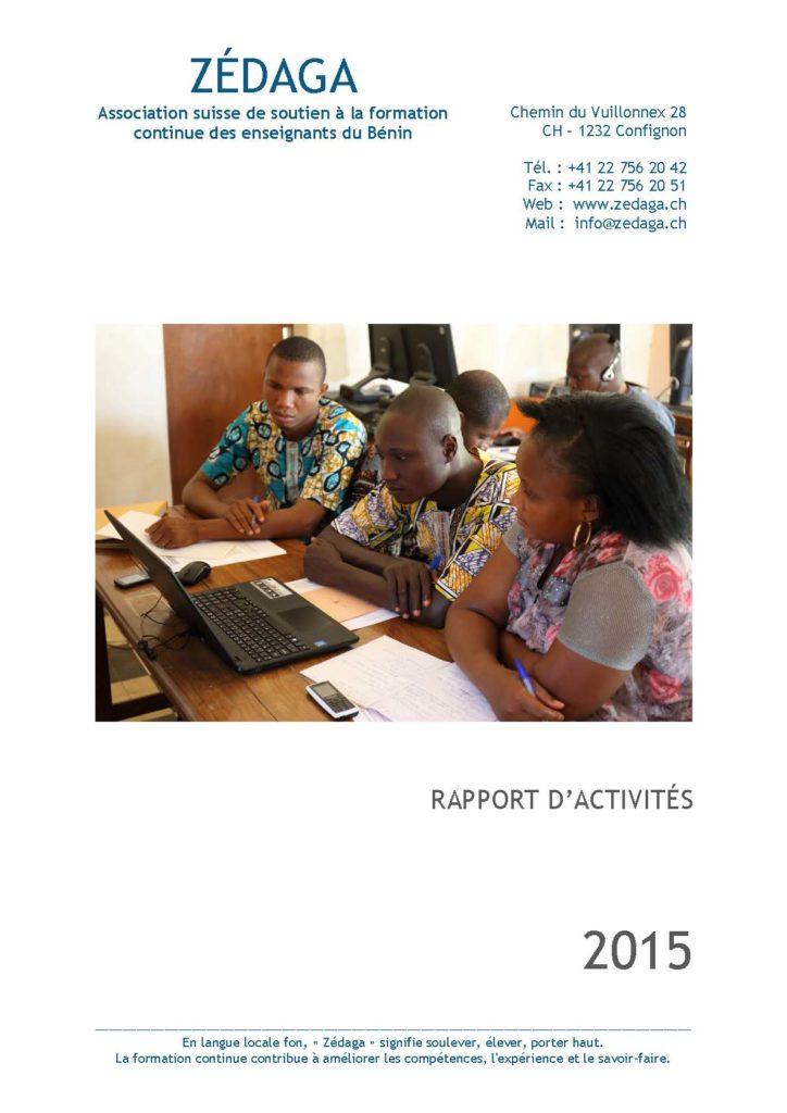 Zédaga - Rapport d'activités 2015 - Couverture.compressed